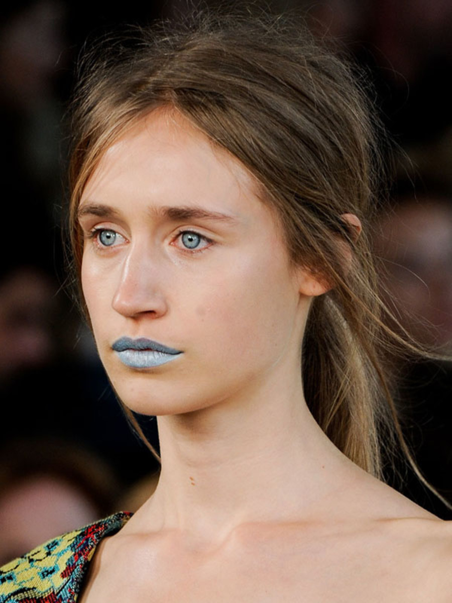 Mary Katrantzou - Spring 2012 beauty