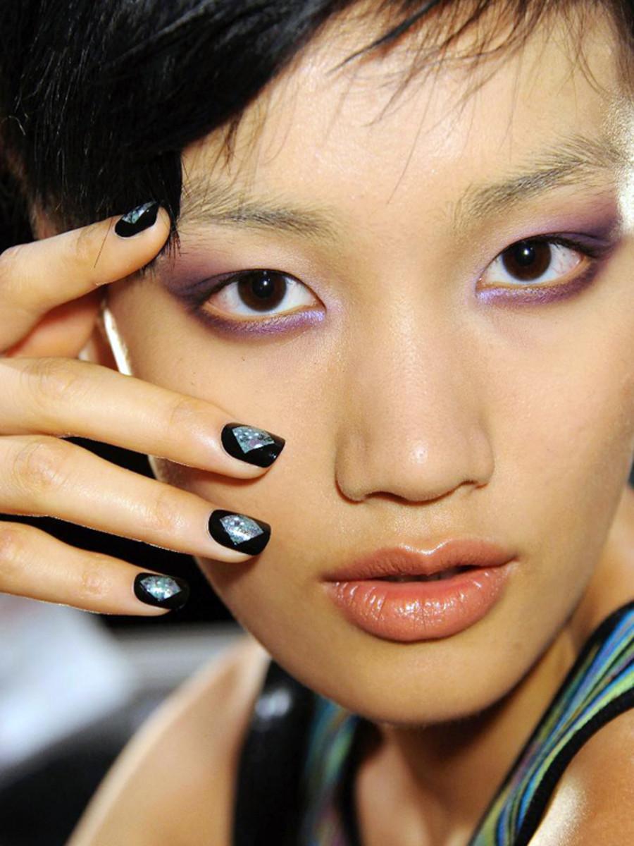 Nicole Miller - Spring 2013 nails