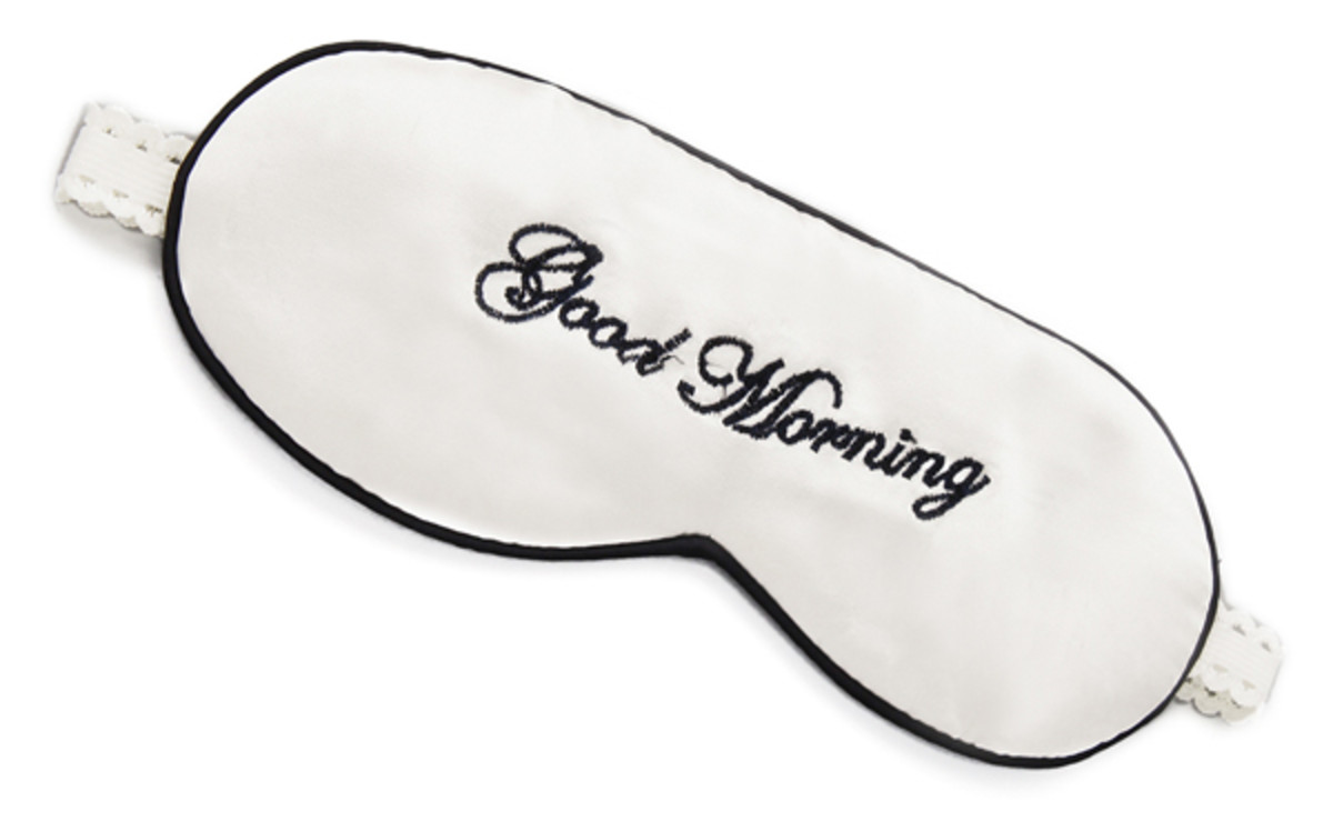 Mary Green Good Morning Good Night Sleep Mask