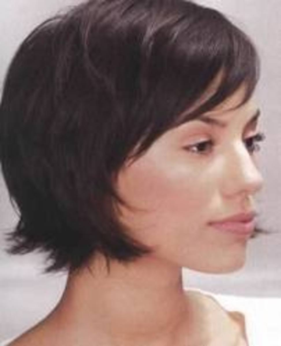 Short layered cut - Lily