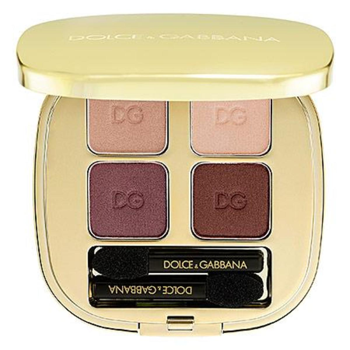 Dolce & Gabbana The Eyeshadow Smooth Eye Colour Quad in Contrasts 140