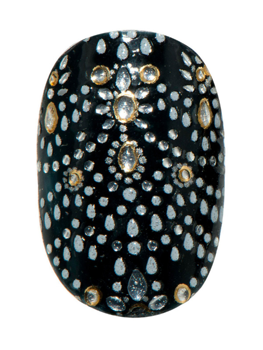 Revlon by Marchesa 3D Jewel Appliques in Beaded Couture