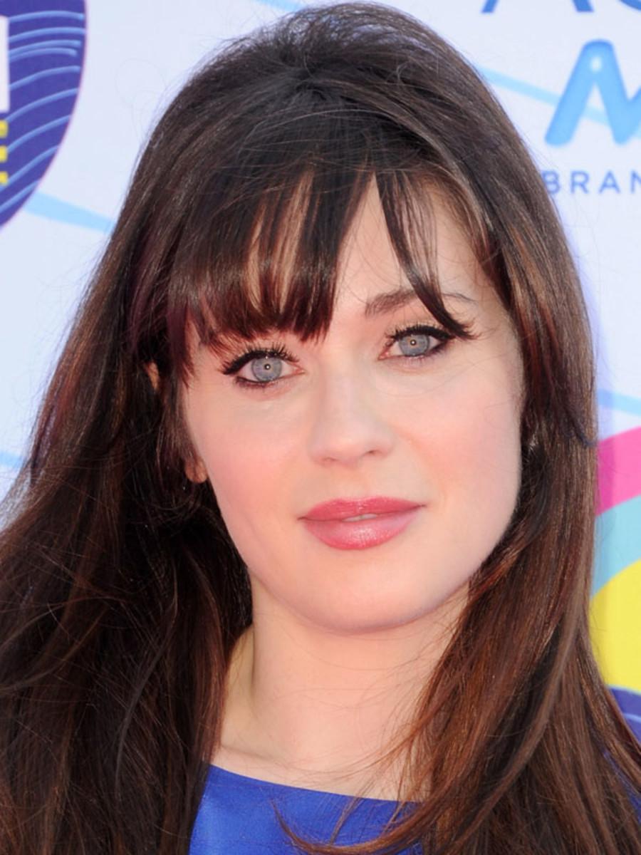 Zooey Deschanel, Teen Choice Awards, 2012
