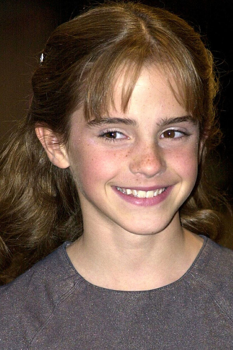 Emma Watson, Harry Potter and the Sorcerer's Stone premiere, 2001