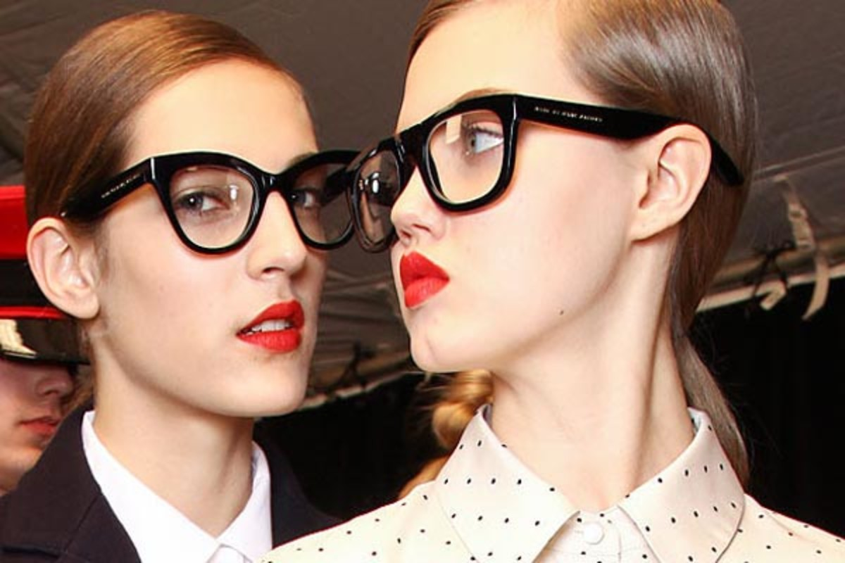 Marc By Marc Jacobs Fall 2012 Makeup How To Wear Makeup With Glasses