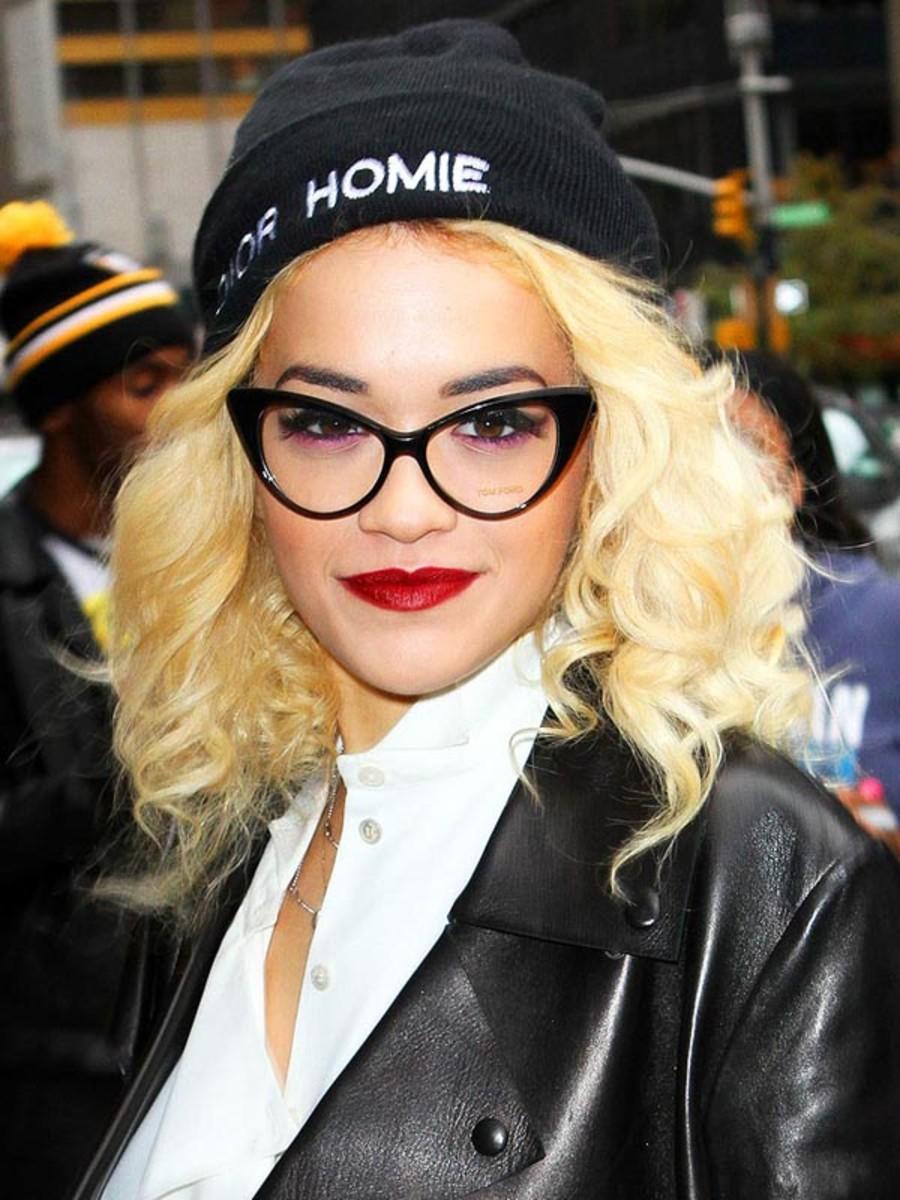 Rita Ora glasses