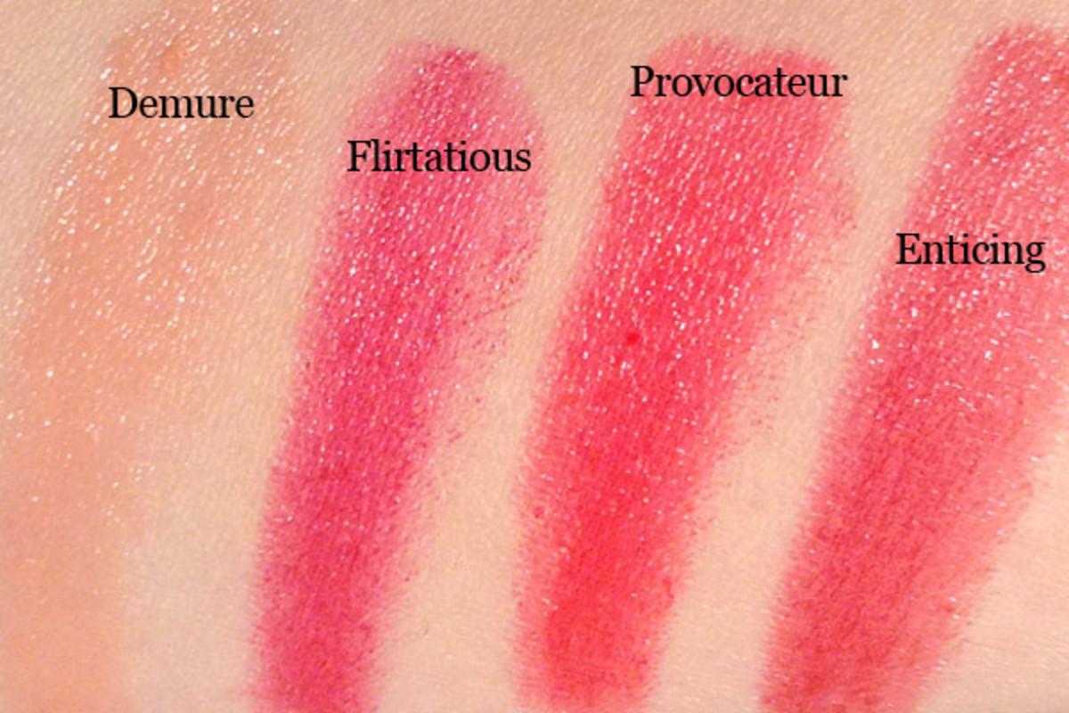 Revlon ColorBurst Lacquer Balms (swatched)