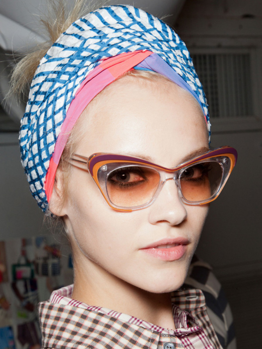 Marc by Marc Jacobs - Spring 2013 hair