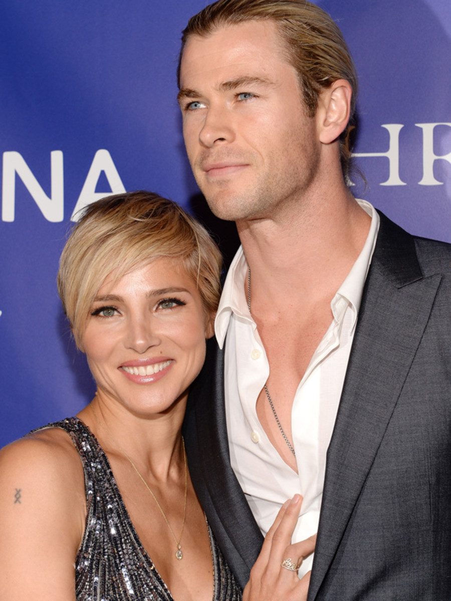 Elsa Pataky and Chris Hemsworth - Inaugural Oceana Ball, April 2013