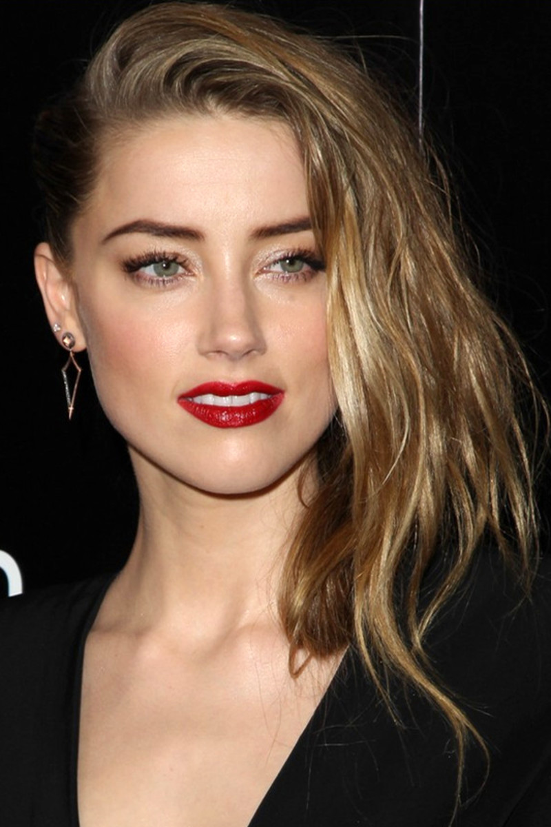 Amber Heard undercut, 3 Days to Kill premiere, 2014 (6)