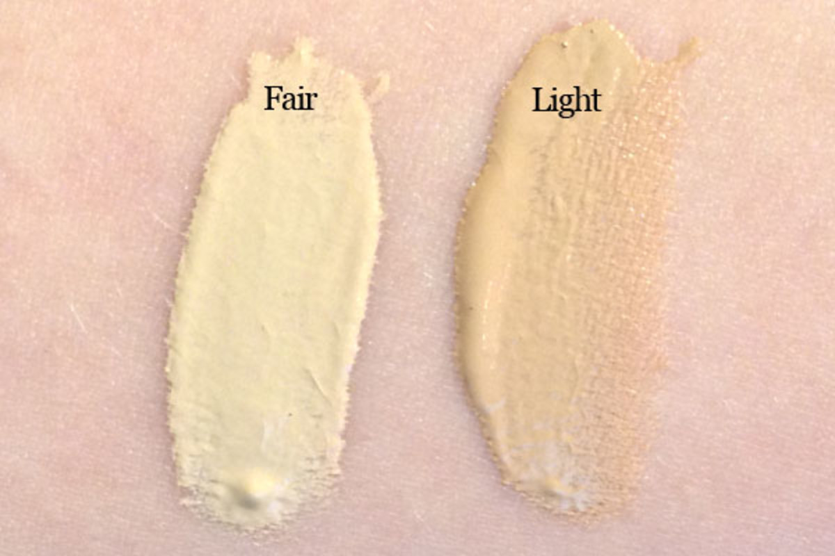 It Cosmetics CC Cream review (Fair and Light swatches)