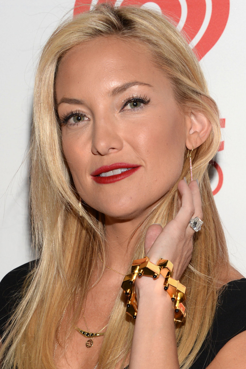 Kate Hudson beauty tips - iHeartRadio Music festival, 2013