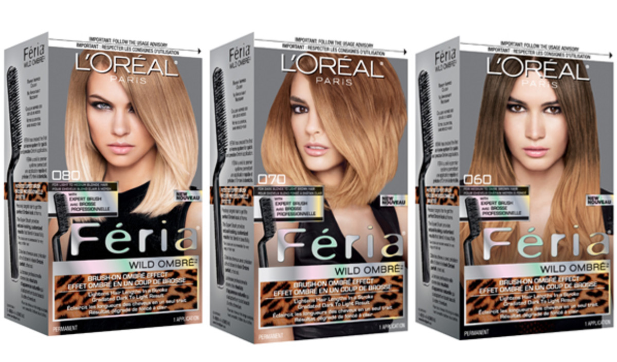 How to get ombr hair at home with loral beautyeditor loreal paris feria wild ombre collection solutioingenieria Image collections