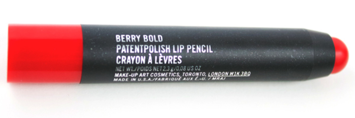 MAC Patentpolish Lip Pencil in Berry Bold