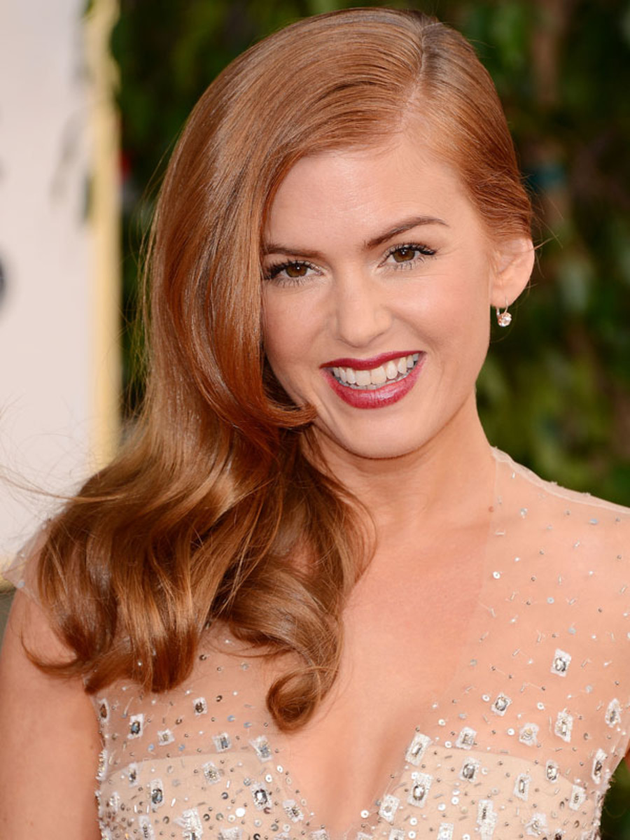 Isla Fisher - Golden Globes 2013