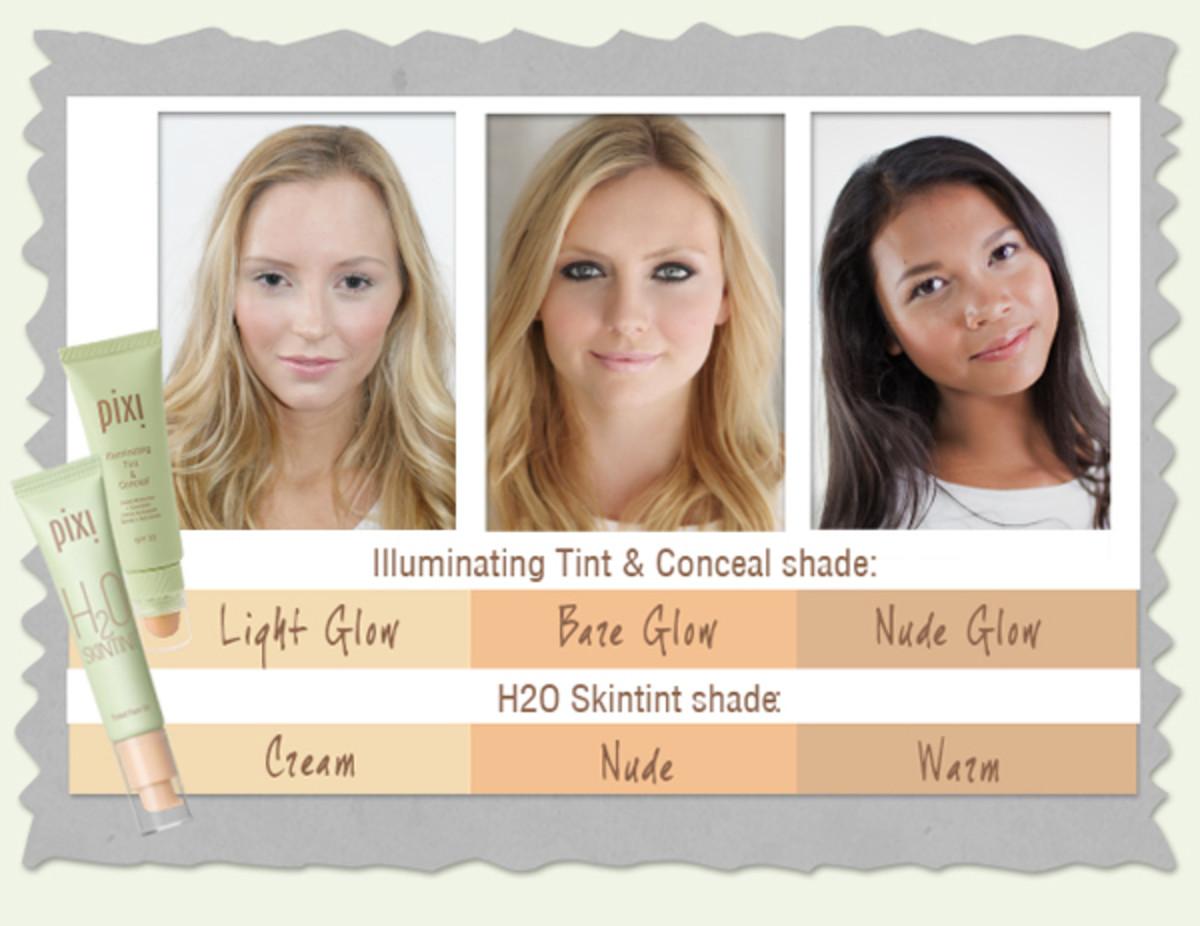 Pixi tinted moisturizers