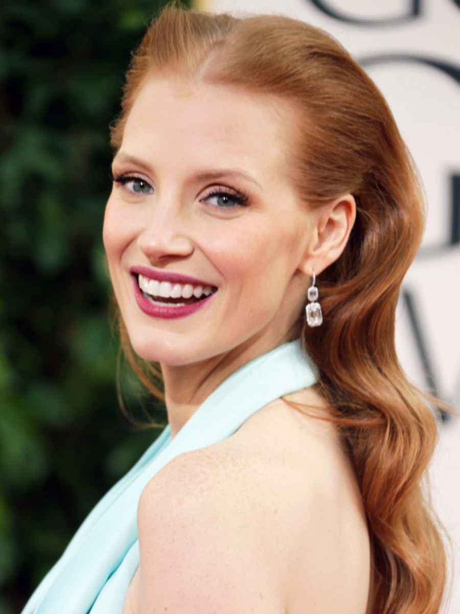 Jessica Chastain - Golden Globe Awards 2013