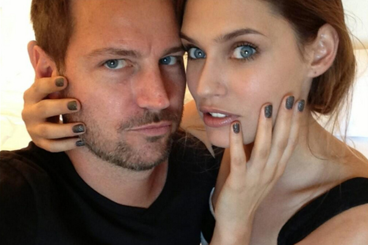 Tom Bachik with Bianca Balti