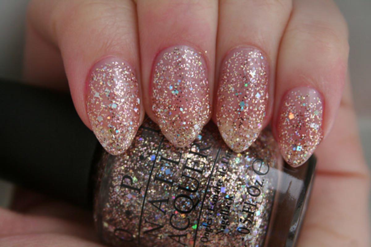 OPI Spotlight on Glitter - Rose of Light