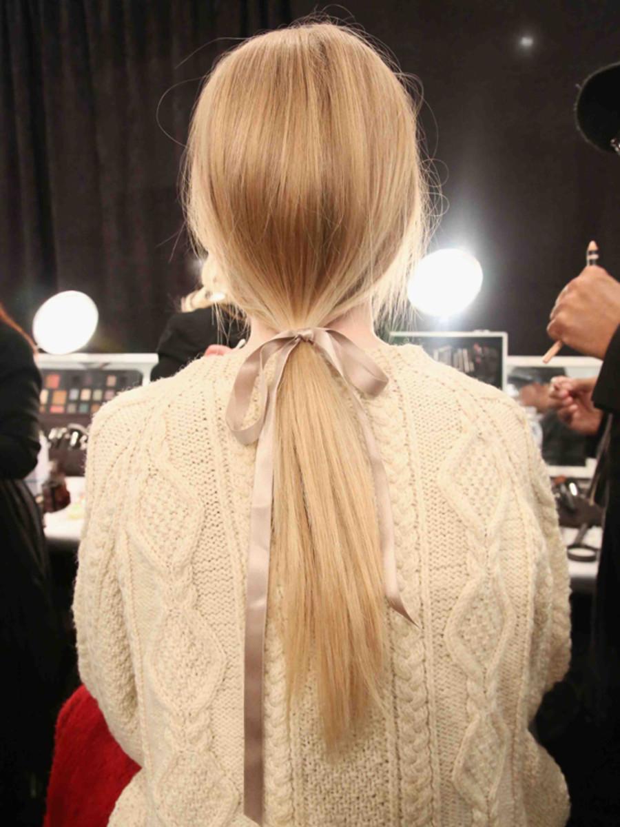 Jenny Packham - Fall 2013 hair