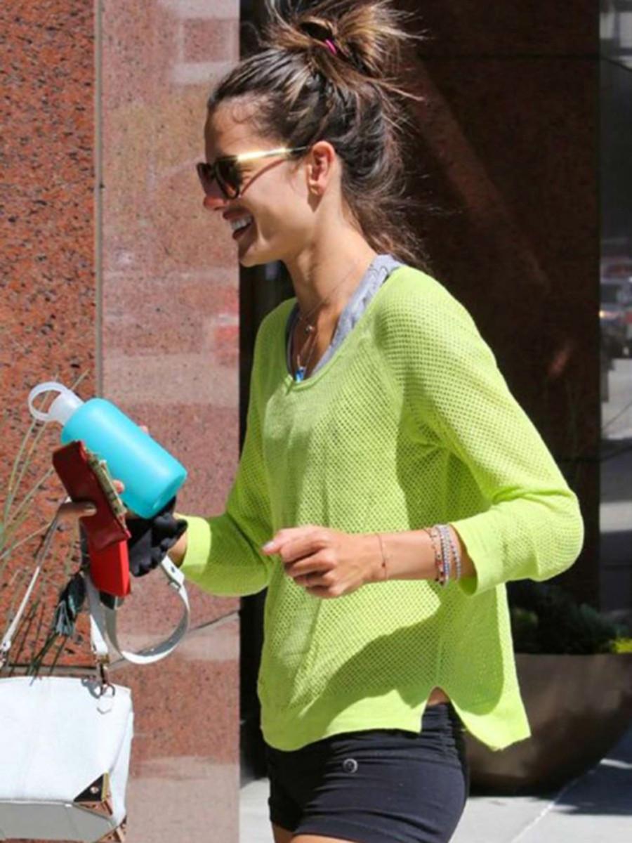 Alessandra Ambrosio with bkr