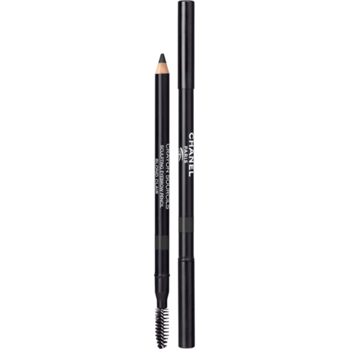 Chanel Crayon Sourcils Sculpting Eyebrow Pencil in Noir Cendre