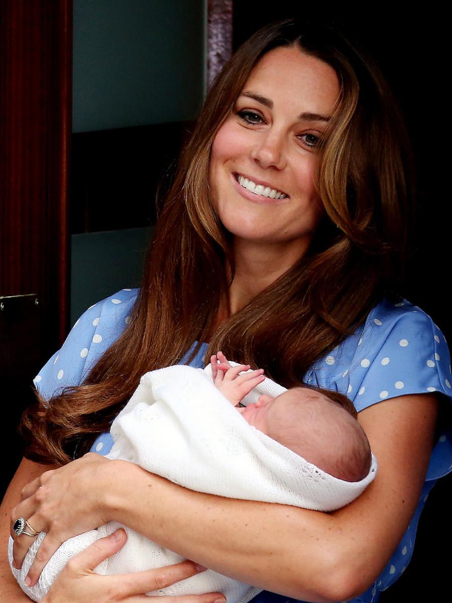 Kate Middleton hair post-baby