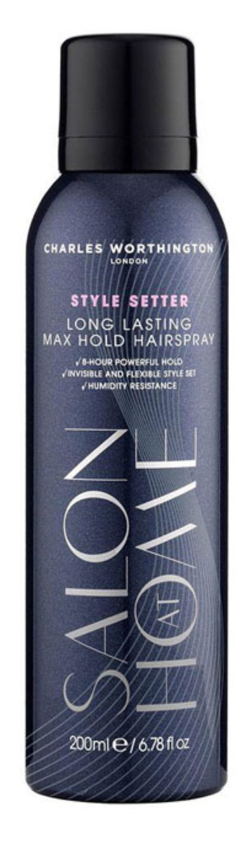 Charles Worthington Style Setter Long Lasting Max Hold Hairspray