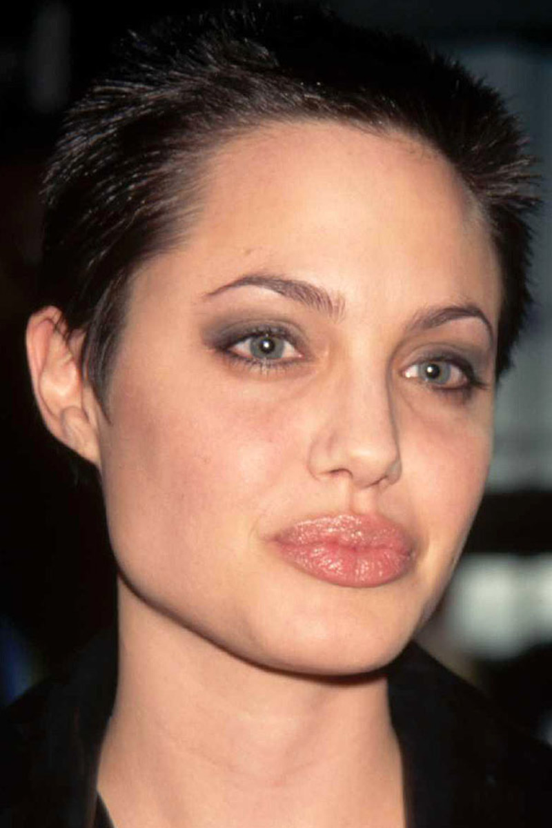 Angelina Jolie, Playing God premiere, 1997