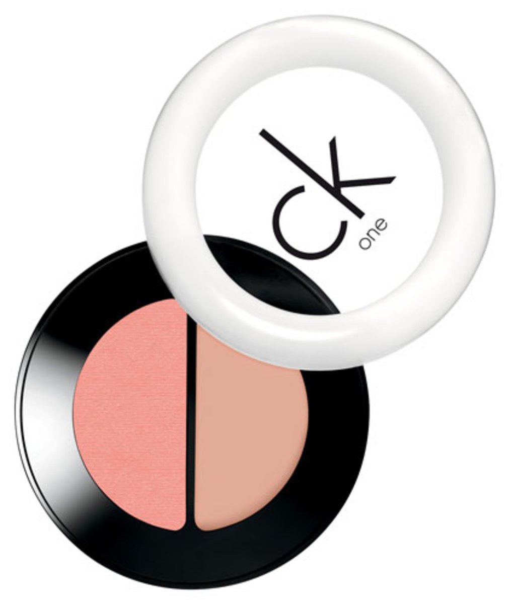 CK One Cream & Powder Blush Duo in Breath 100