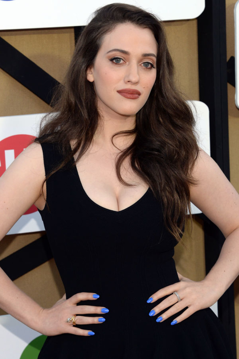 Kat Dennings - CW, CBS and Showtime 2013 Summer TCA Party, LA (July 29) - nails