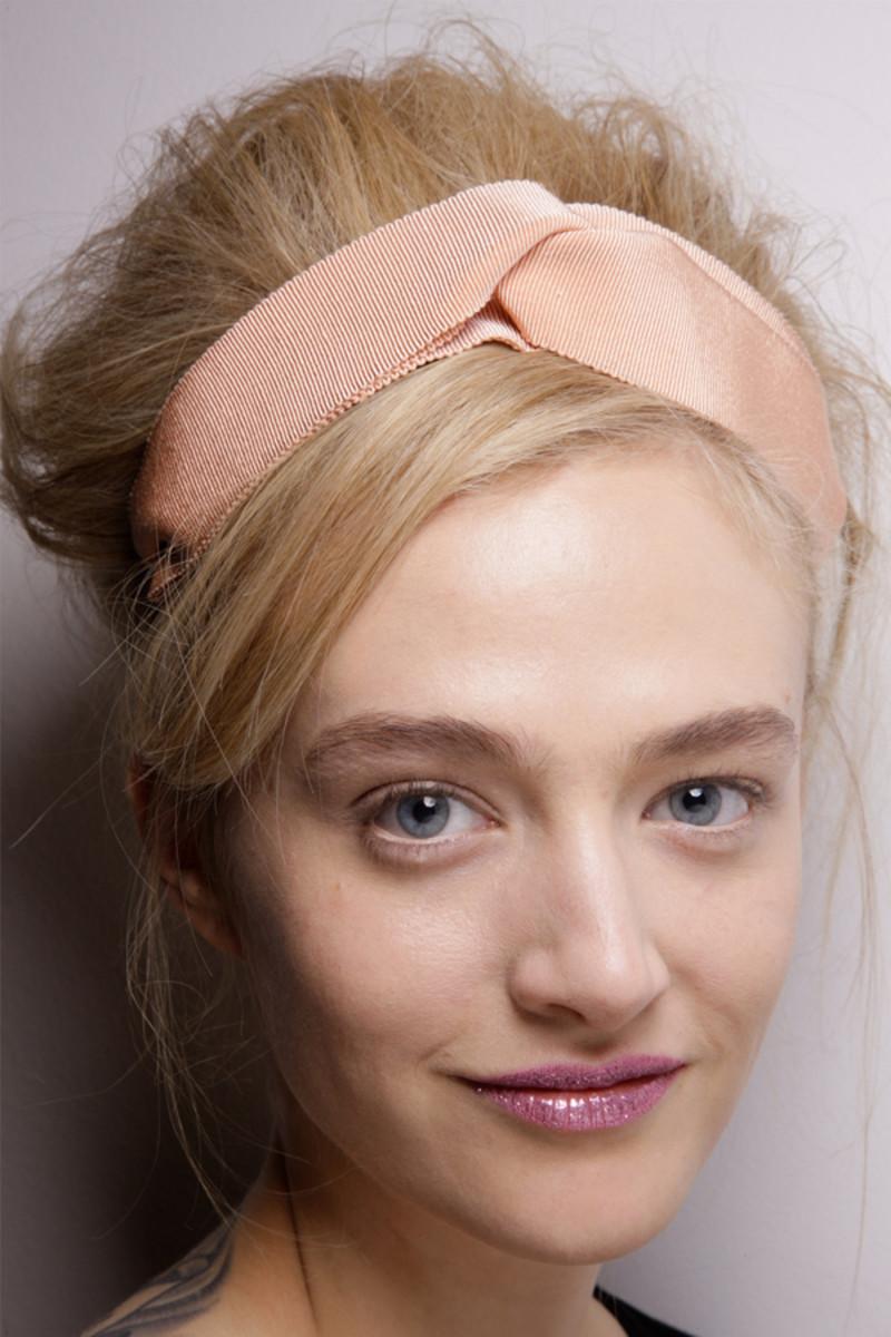 Moschino Cheap & Chic - Fall 2012 hair