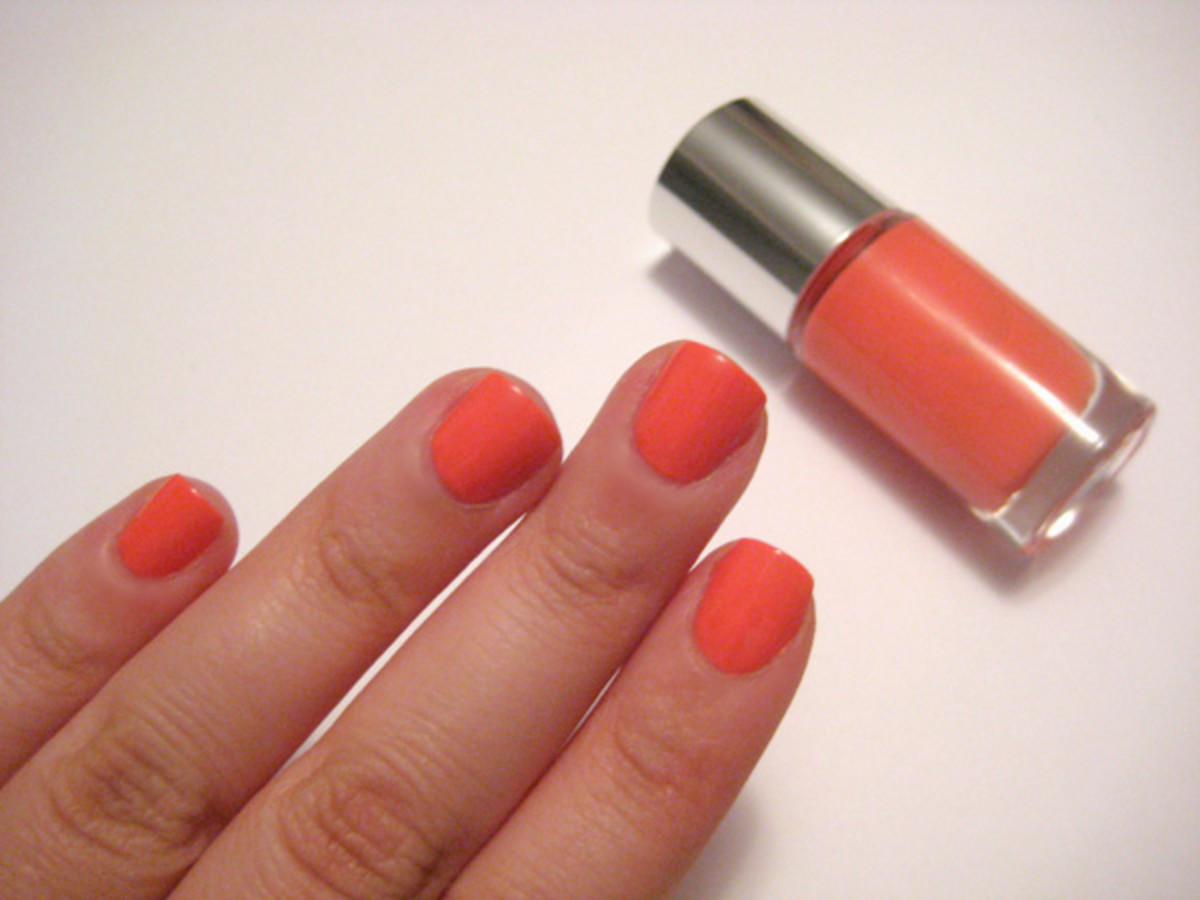 Clinique Sensitive Nail Polish - Really Rio