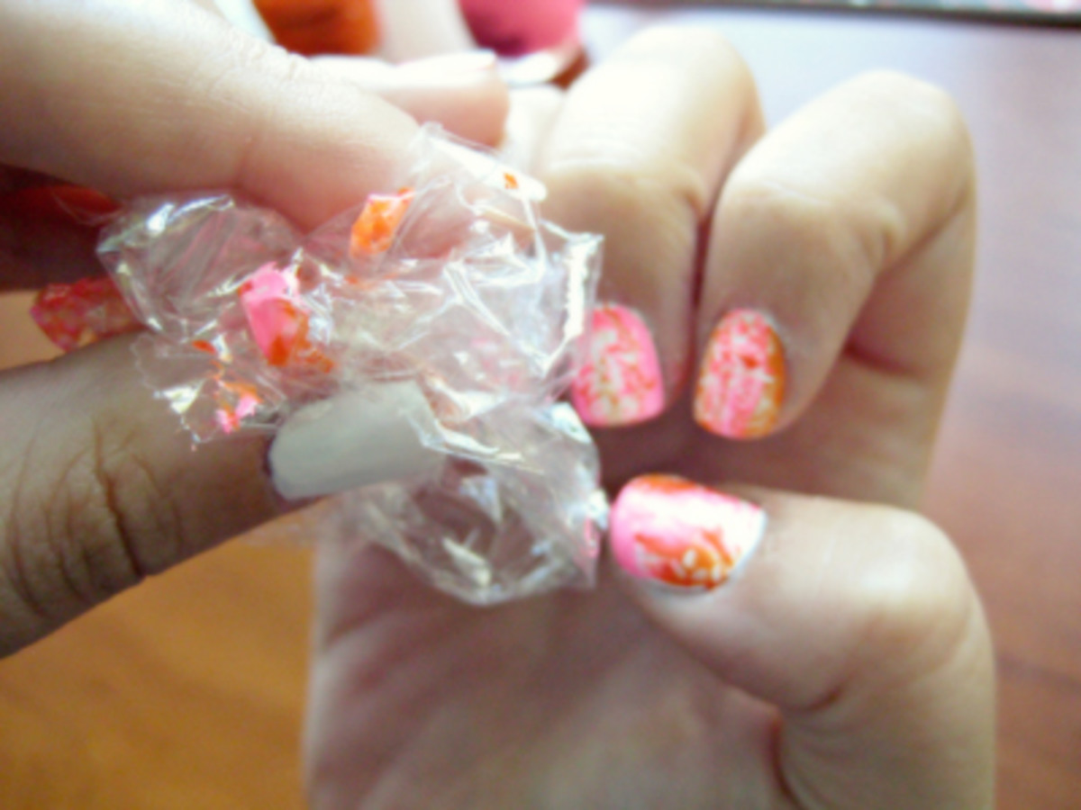 Marble nails - Step 4