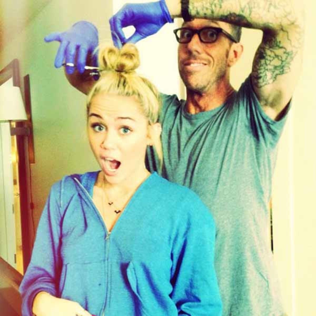 Miley Cyrus and Chris McMillan