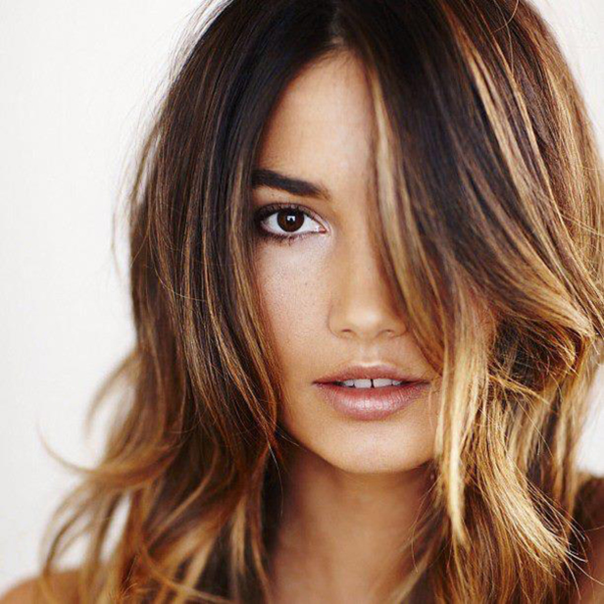 Lily Aldridge hair colour