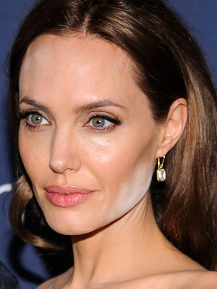 Angelina Jolie Is The Latest Celeb To Have A White Powder
