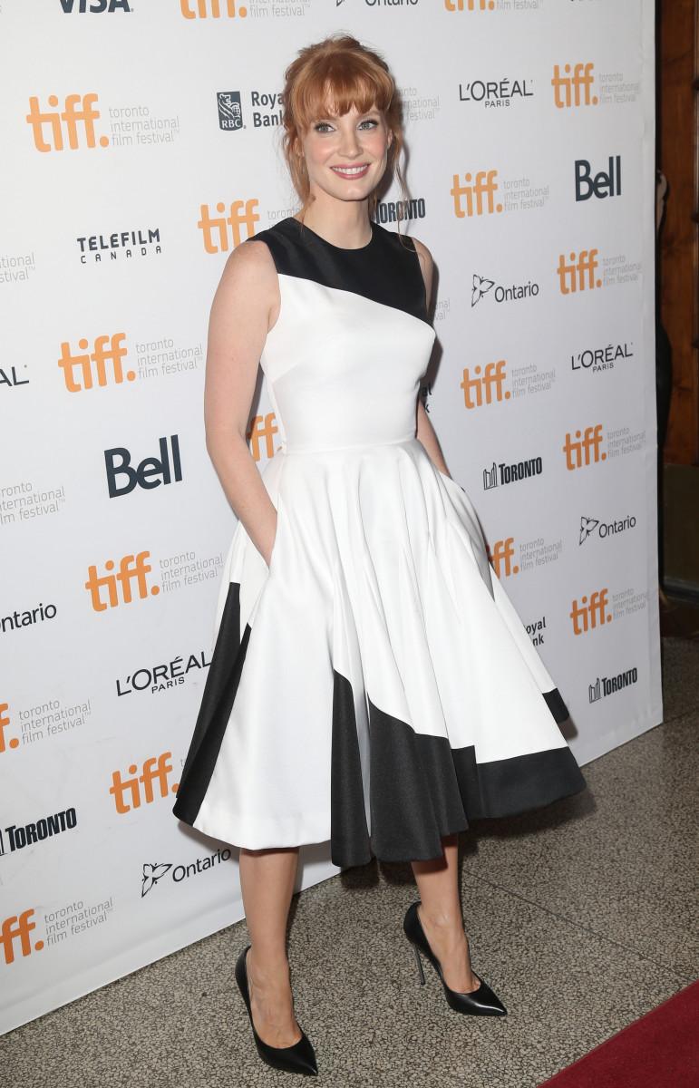 Jessica Chastain, Miss Julie premiere, 2014