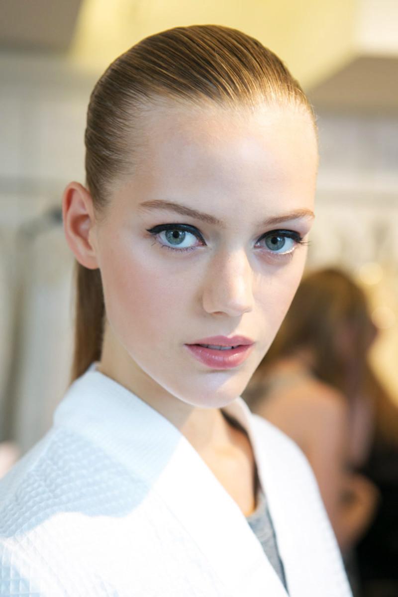 Oscar de la Renta Spring 2015 makeup