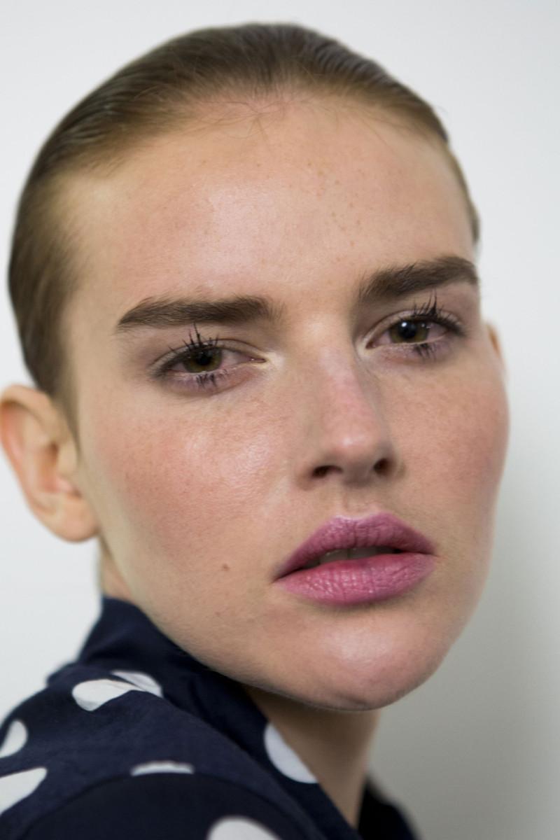 Altuzarra Spring 2015 makeup