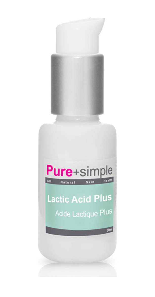 Pure and Simple Lactic Acid Plus