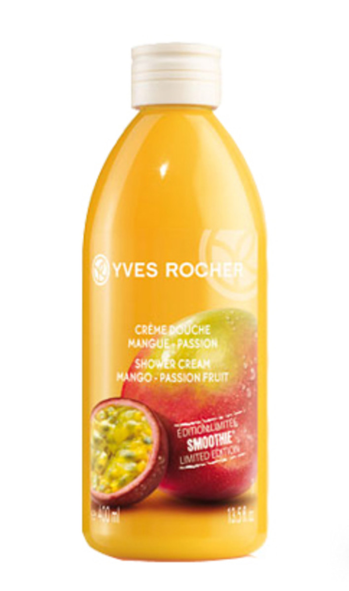 Yves Rocher Mango Passion Fruit Smoothie Shower Cream