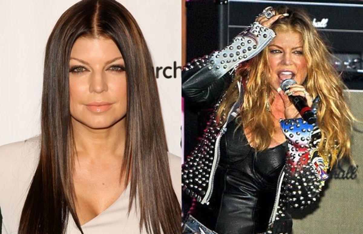 Fergie-blonde-hair-brunette-hair