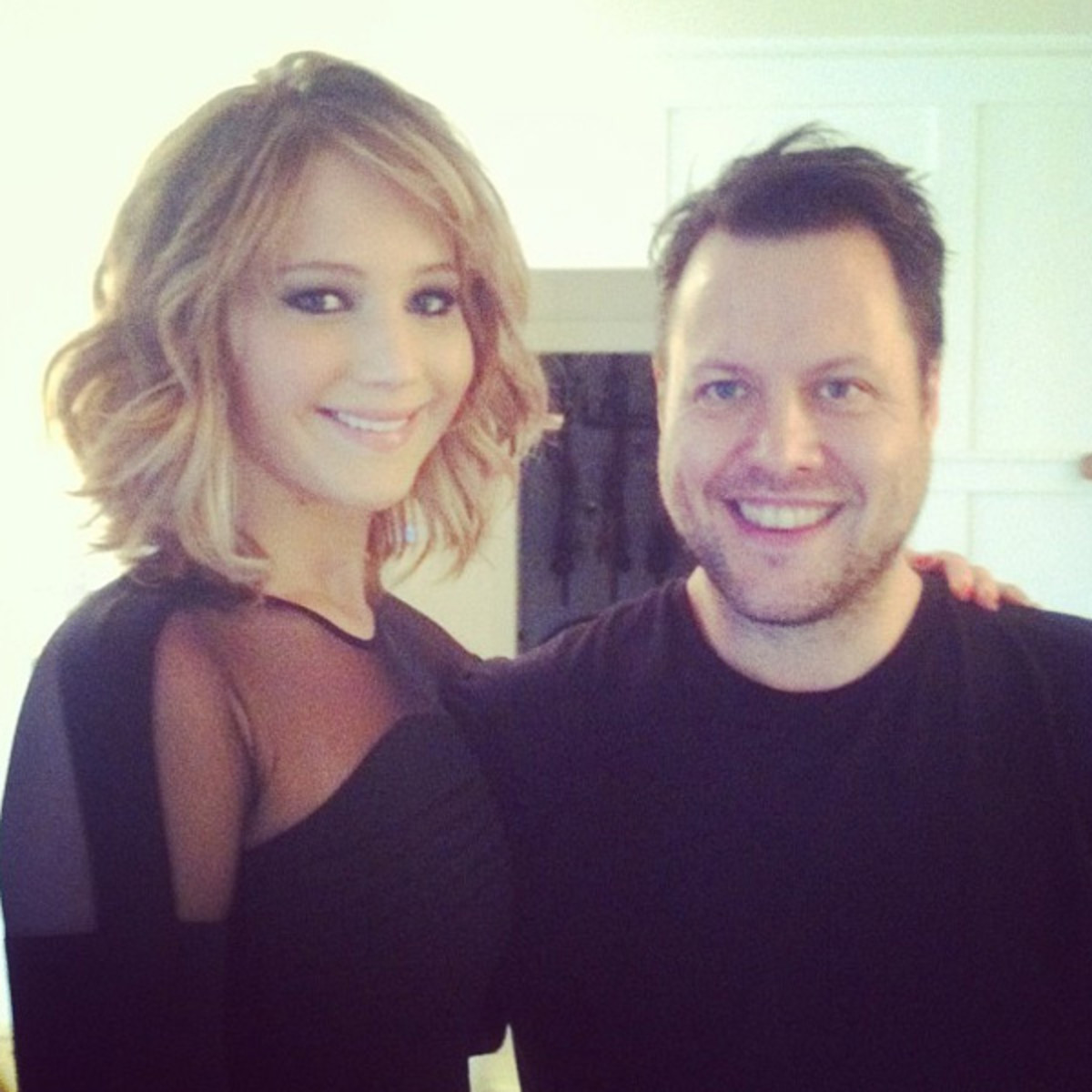 Jennifer Lawrence and Mark Townsend