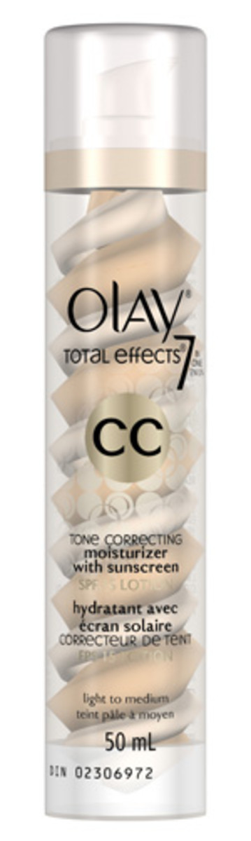 Olay Total Effects Tone Correcting Moisturizer With Sunscreen - Light To Medium