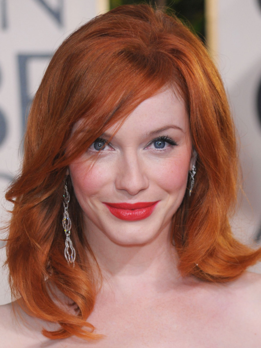 Christina Hendricks, Golden Globe Awards, 2010