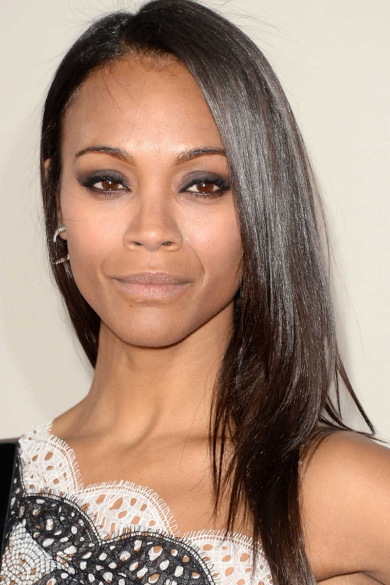 Zoe Saldana, American Music Awards, 2013