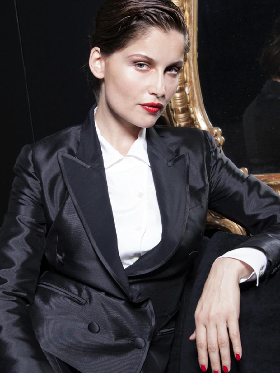 Laetitia Casta for Dolce & Gabbana - tuxedo