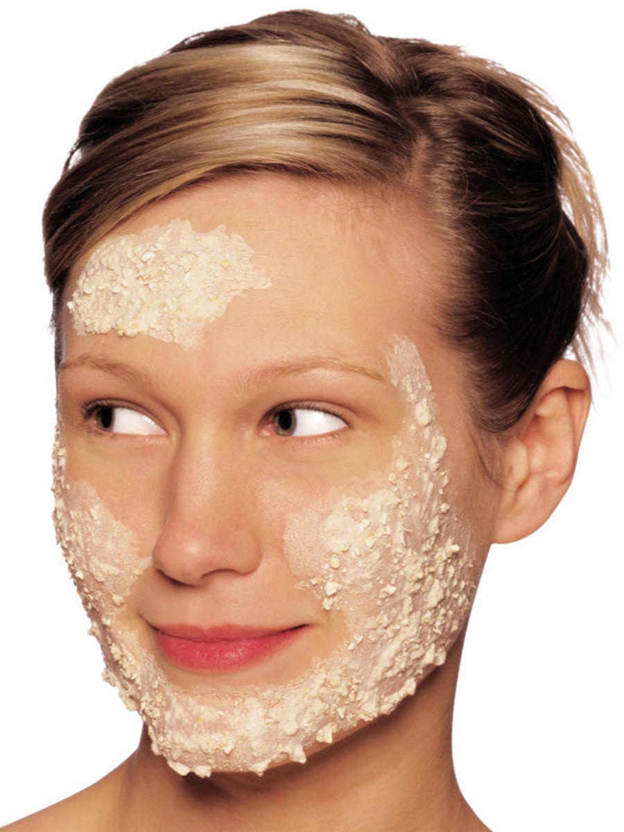 Image result for facial exfoliation elle