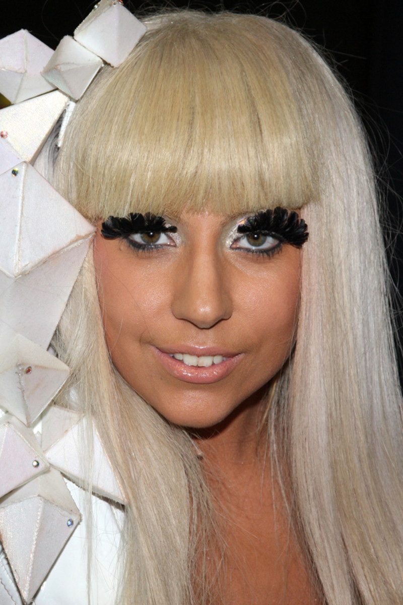Lady Gaga before and after: Z100 Jingle Ball, 2008